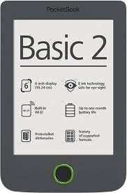 ***PocketBook Basic 2PB614W-Y-WW Grey