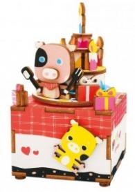 3D Wooden Puzzle Happy Birthday AM309